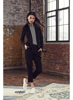 Peyton Bouse, Cohen Pant Babaton Fall '14, available exclusively at @Aritzia