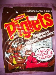 My absolute favourite childhood crisps from the 80s! Loved them.