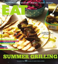 Did you get your July/Aug Issue of yet? Check out Fiamo Italian Kitchen on pages 22 to Best Italian Restaurants, Eat Smart, Restaurant Recipes, Wine Recipes, I Foods, Sushi, Good Food, Lime, Rolls