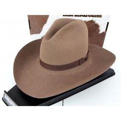 69303b24061 Resistol Cowboy Hat 4X Beaver Fur Felt Canyon Shooter