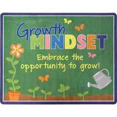 Growth Mindset Classroom Rug by Really Good Stuff Inc Growth Mindset Display, What Is Growth Mindset, Growth Mindset Lessons, Growth Mindset Classroom, Growth Mindset Activities, Display Boards For School, School Displays, Class Displays, Really Good Stuff