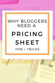 If you want to make money with your blog you have to treat it like it's a business, and that includes knowing what rates to charge for your blogging services.   What is a  rate sheet? A cute little one-sheeter PDF that lists out your various pricing structures for a blog post, Instagram story, video, etc. This sheet will help you turn your blog from a hobby into a business.