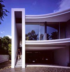 Desain Rumah Dua Lantai Modern japanese