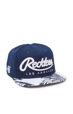 1f9f5816eef86 Young   Reckless Big R Script Snapback Hat - Mens Backpack