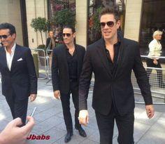 Carlos, Urs and David