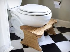 The Bamboo Squatty Potty Stool | Cool Feed.me - Cool Stuff To Buy And Drool Over