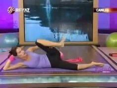 Ebru Şallı Bacak İnceltme Pilates Egzersizleri
