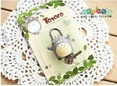 Totoro padlock