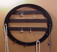 Earring rack and Necklace holder holds about 70 by LangtonStudio