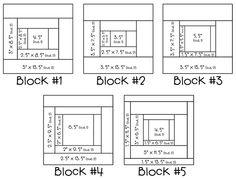 Quilt Block patterns.