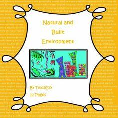 Natural and Built Environment - K/1