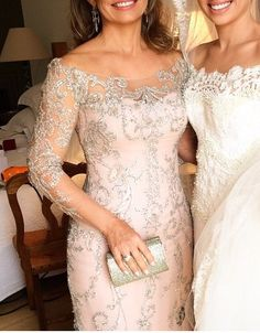 Mother Of The Bride Fashion, Mother Of The Bride Dresses Long, Mother Of Bride Outfits, Mothers Dresses, Brides Mom Dress, Bride Groom Dress, Grooms Mom Dress, Elegant Dresses, Beautiful Dresses
