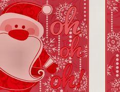 DMC joue au Père-Noël en vous offrant ce diagramme que vous pourrez tout à loisir broder sur vos serviettes, torchons, nappes, vis à vis ...