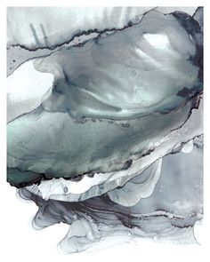 Storm Skies Grey Ink: Art Print, Cloudscape art, Skyscape Art, Sky Painting, Skyscape Art Prints
