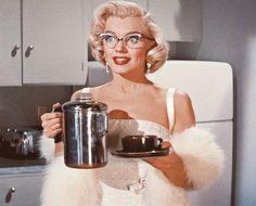 vintage coffee blond