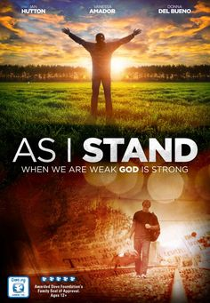 As I Stand - Christian Movie/Film on DVD. - The best As I Stand Images, Pictures, Photos, Icons and Wallpapers on RavePad! Good Christian Movies, Christian Films, Christian Videos, Christian Posters, Family Movie Night, Family Movies, Faith Based Movies, Films Chrétiens, Inspirational Movies
