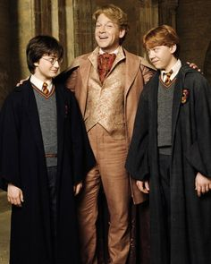Harry Potter Gilderoy Lockhart & Ronald Weasley (Harry Potter and the Chamber of Secrets)