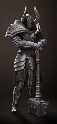 Armadura de Aldebaran: Armadura pesada, Somente ela empresta a força para suportar, armas de grande porte