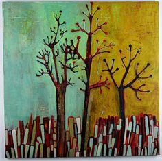 three trees_gilhooly by gilhooly studio, via Flickr