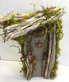 Rustic /Shabby Chic/ Enchanted Forest/ Fairy Gnome Hobbit Door/ Natural/ Wedding/ Game of Thrones by Rusticredoo on Etsy https://www.etsy.com/listing/277478362/rustic-shabby-chic-enchanted-forest