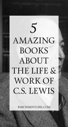 Celebrate the life + work of CS Lewis with these 5 amazing books! | CS Lewis Books | C S Lewis Books | #Books #Reading