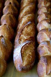 Beautiful Baguettes with Poolish. Sourdough Recipes, Sourdough Bread, Bread Recipes, Cooking Recipes, Starter Recipes, Artisan Boulanger, Baguette Recipe, Bread And Pastries, Artisan Bread