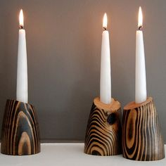 Design Candleholders by Jean Pelle - Tod and Billie candle holders