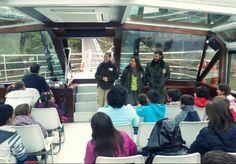 Guías de la Estación Biológica Internacional y del ICNB de Portugal colaboran gratuitamente con la Câmara de Miranda en la edición 2014 de ayer a bordo del Navío-Aula Escua perteneciente a la E.B.I.