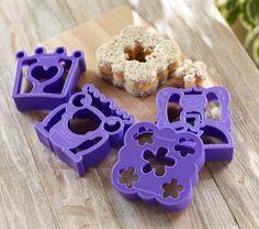 Princess Lunch Punch Sandwich Cutters | Pottery Barn Kids