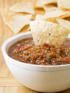 Our take on The Best Homemade Salsa Recipe (Quick, Healthy & Delicious!) | ASpicyPerspective.com