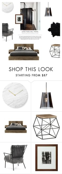 """""""Mid-Century Modern"""" by nudenim ❤ liked on Polyvore featuring interior, interiors, interior design, home, home decor, interior decorating, Menu, Nyta, Huppé and Mitchell Gold + Bob Williams"""