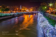 Christmas lights in the city by GeorgePapapostolou