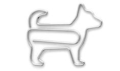 Impossibly cute paper clips shaped like cats, dogs, and wild animals