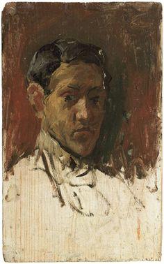 Pablo Picasso. Self-portrait. 1896