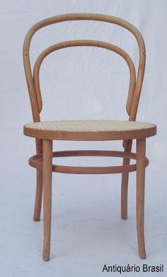 cadeira palhinha- thonet- antiquário brasil.