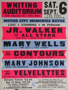Motown: Motor City Memories Revue #motown