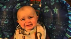 Emotional baby cries when his mommy sings to him. This is the cutest saddest thing ever.