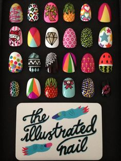 International Nail Art Day - The Illustrated Nail