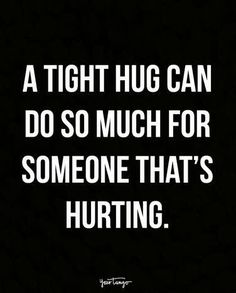 A tight hug to keep the heart from falling apart.