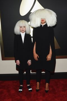 Worst | While we have yet to actually see Sia's face, from the look of this outfit, we can wait another day. via @stylelist | http://aol.it/1CVIqCA