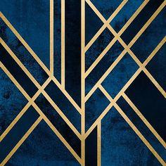 & Deco Midnight& by Elisabeth Fredriksson Graphic Art on Wrapped Canv. & Deco Midnight& by Elisabeth Fredriksson Graphic Art on Wrapped Canvas Arte Art Deco, Motif Art Deco, Estilo Art Deco, Art Deco Design, Art Deco Wall Art, Art Deco Paintings, Art Deco Rugs, Art Nouveau, Interiores Art Deco