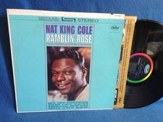 Vintage Nat King Cole  Ramblin Rose MONO Vinyl by sweetleafvinyl