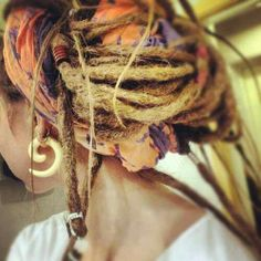 #tunnels #plugs #hippie #dreads