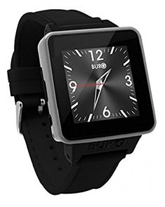 BURG 16A-BLK NEON BURG 16A Smartwatch Phone (SIM Card for iOS & Android ) Black. This refurbished product is tested and certified to look and work like new. The refurbishing process includes functionality testing, basic cleaning, inspection, and repackaging. The product ships with all relevant accessories, and may arrive in a generic box.