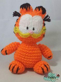 Garfield Amigurumi