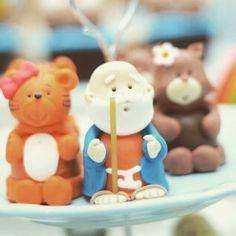 Noe e os bichinhos #festaarcadenoe #arcadenoe #docesdecorados #trufasdecoradas #festamenino