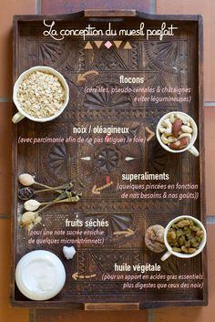 Learn how to make your homemade muesli healthy, personalized & delicious is easy ♡ Flakes, nuts, superfoods, dried fruit are waiting for you. Good Morning Breakfast, Perfect Breakfast, Breakfast Snacks, Breakfast Recipes, Healthy Nutrition, Healthy Cooking, Superfood, Delicious Vegan Recipes, Healthy Recipes