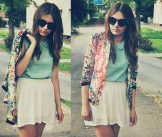 Mint blouse / torraperry (by Dora Janeczek)