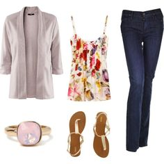 love the simplicity. created by abbyleighanne on Polyvore