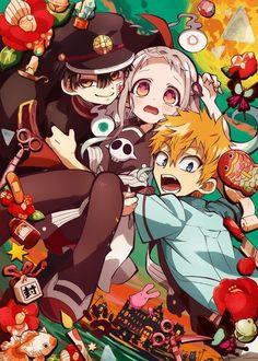 El comienzo del año viene acompañado del estreno de los anime de la temporada de Invierno siendo uno de los que más ha destacado Jibaku Shônen Hanako-kun, traducido como Toilet-bound Hanako-kun. Se trata de … Animes Shojo, Dibujos Anime Manga, Dibujos Kawaii, Arte Anime, Cosplay De Avatar, Historia Japonesa, Portada Anime, Desafío De Dibujo, Ropa Dibujo